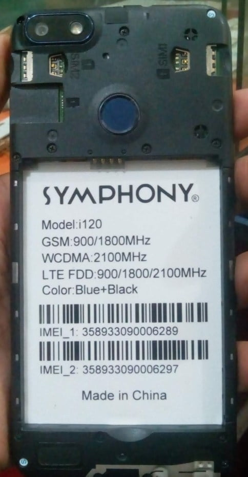 Symphony i120 Flash File 1