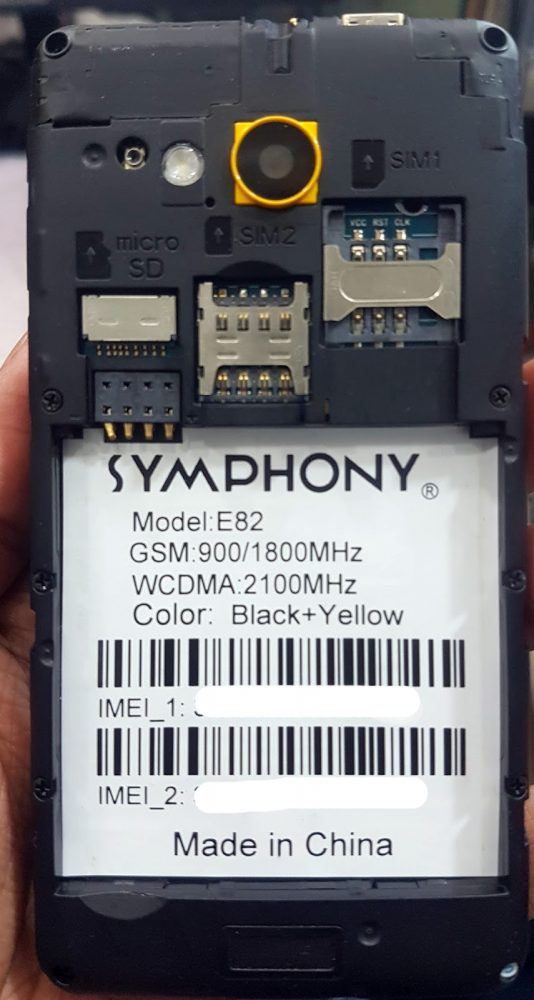 Symphony E82 Flash File 1