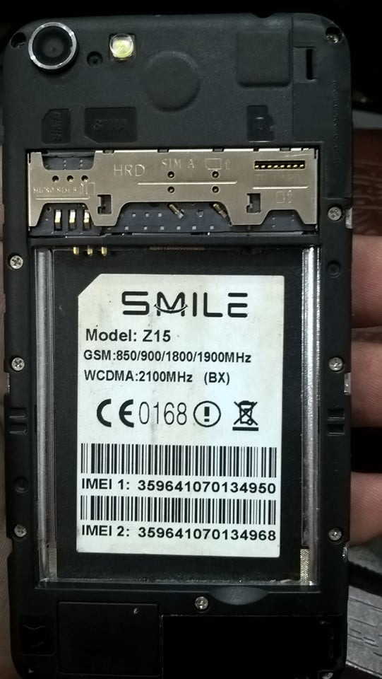 Smile Z15 Flash File 3