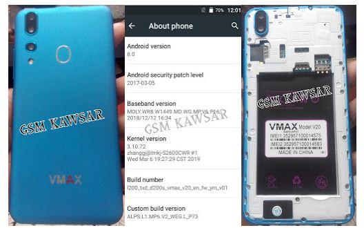 Vmax V20 Flash File 12