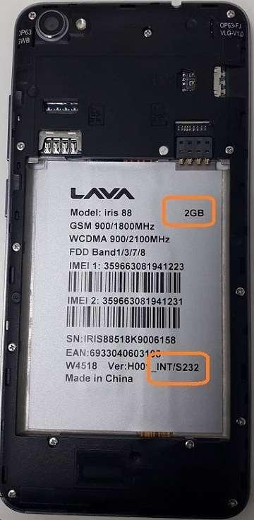Lava Iris 88 Flash File 100% Tested Firmware 27