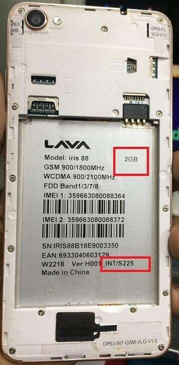 Lava Iris 88 Flash File 100% Tested Firmware 24
