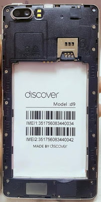 Discover D9 Flash File 3