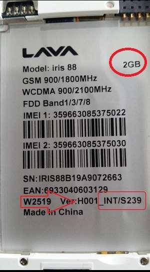 Lava Iris 88 Flash File 100% Tested Firmware 28