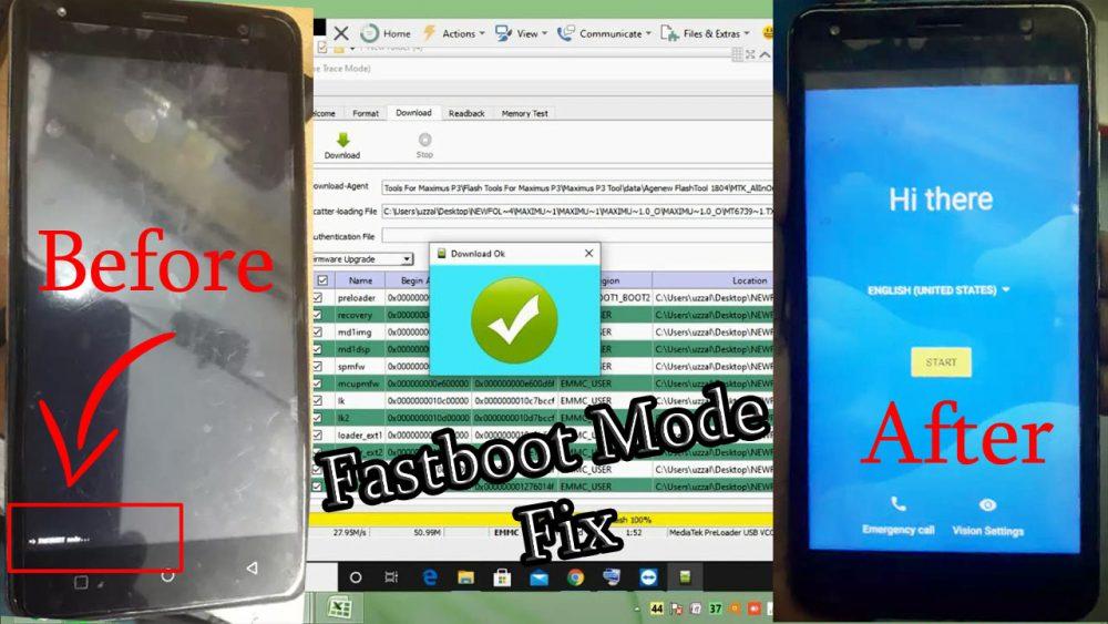 Maximus P3 Fastboot Mode Fix Care Flash File Firmware