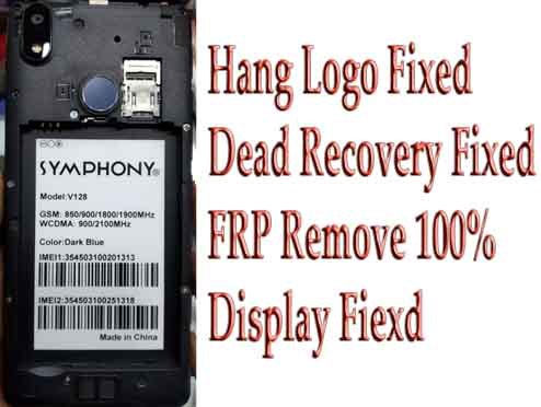 Symphony V128 Flash File Firmware