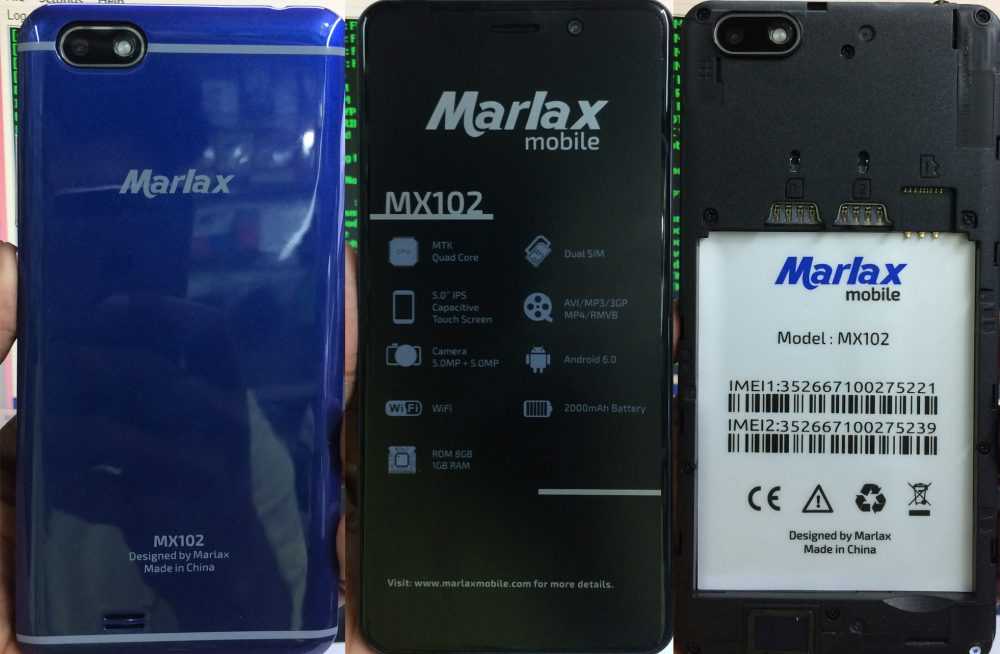 Marlex MX102 Flash File 5