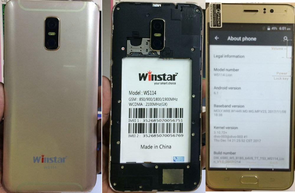 Winstar WS114 Flash File 1
