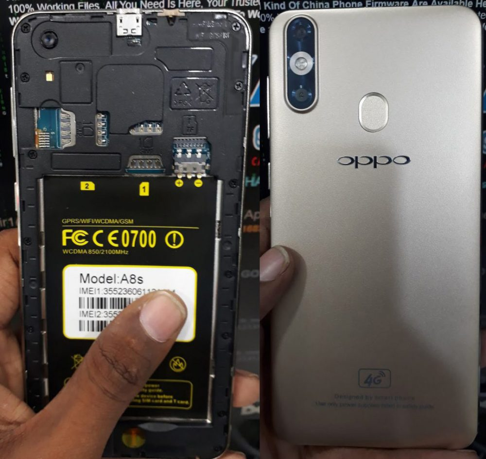 Oppo Clone A8s Flash File 3