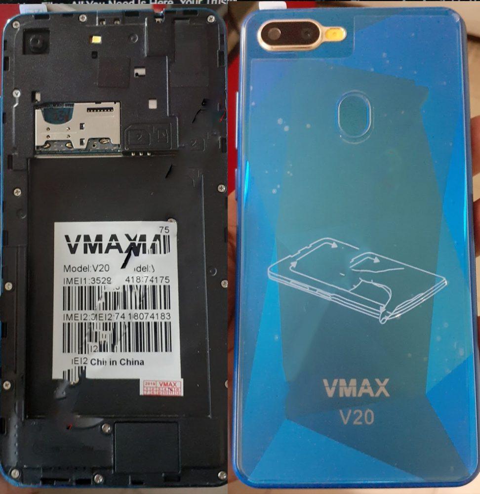 Vmax V20 Flash File All Version Firmware File Download 2