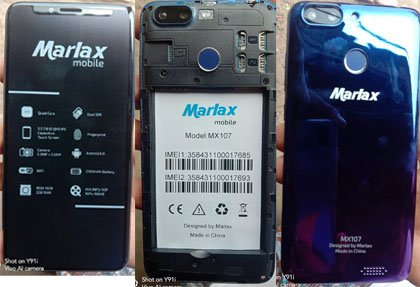 Marlex MX107 Flash File 2