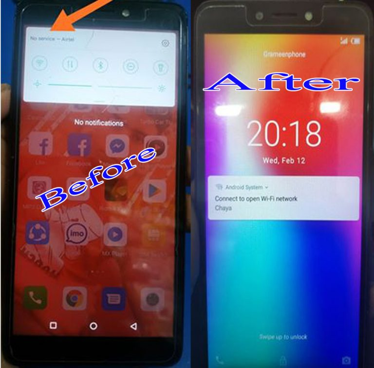 itel Alpha W5503 Flash File Tested Firmware 3
