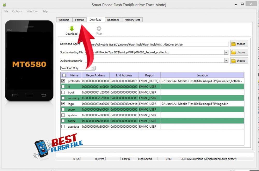 How To frp remove SP Flash Tool (Mediatek) 37
