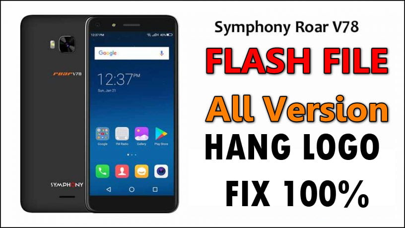 Symphony Roar V78 Flash File 6
