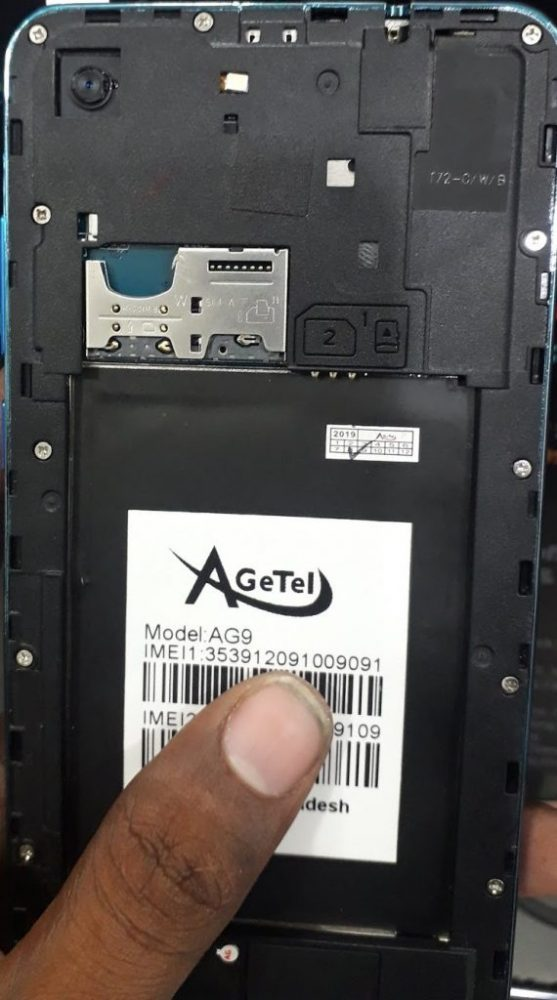 AgeTel AG9 Flash File Without password