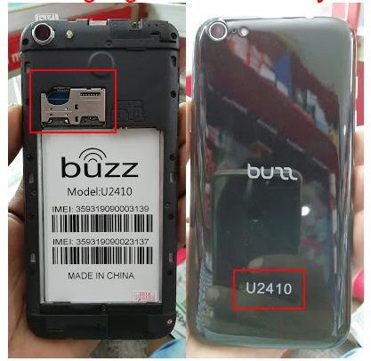 Buzz U2410 flash file without password