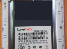 ByTwo BS400 flash file Without Password