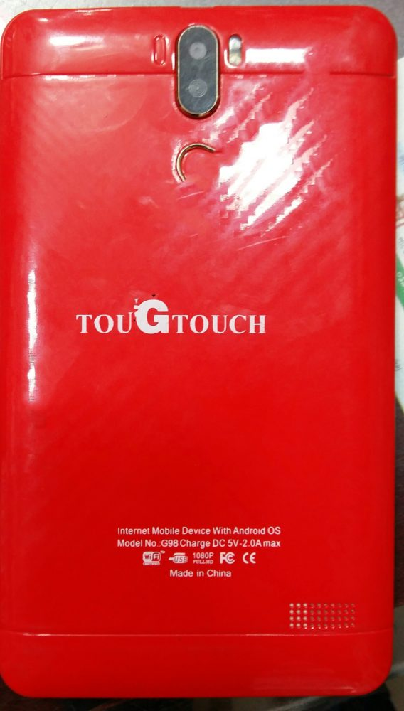 GTouch G98 Flash File without password