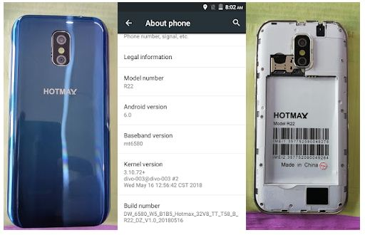 Hotmax R22 flash file without password