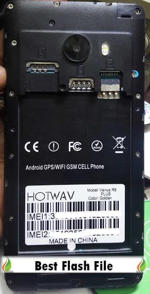 Hotwav Venus R8 Plus Flash File Without password