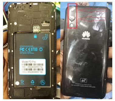 Huawei Clone F3 Pro flash file without password