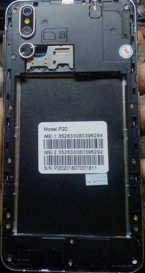 Huawei Clone P20 Flash File without password