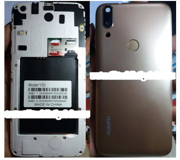 Huawei Clone Y20 FLASH FILE without password