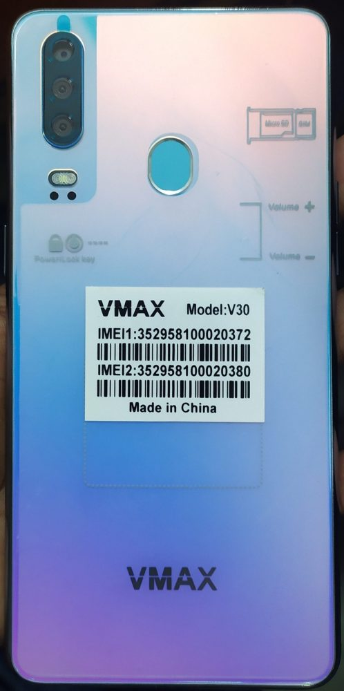 Vmax V30 Flash File 16