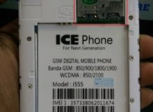 Ice Phone i555 Flash File Without Password