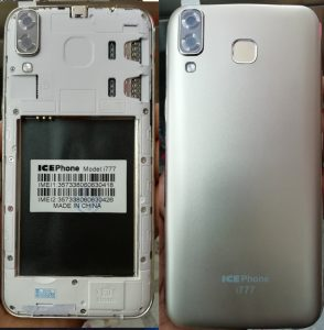 Ice Phone i777 Flash File without password