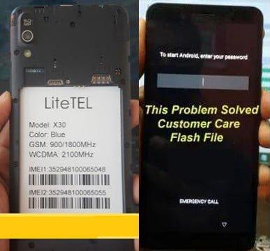 Litelet-X30 Flash File Without password free