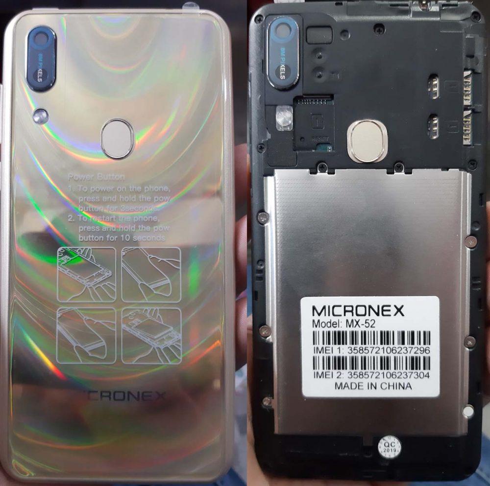 Micronex MX-52 Flash File 6