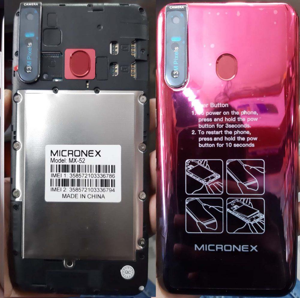 Micronex MX-52 Flash File 5