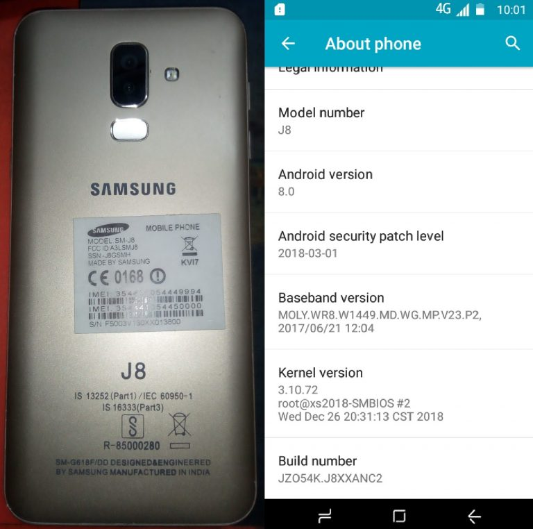 Samsung Clone J8 Flash File 3