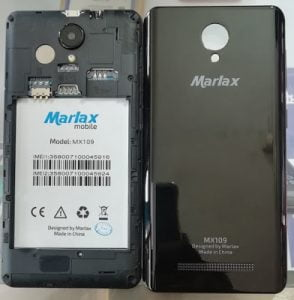 Marlax MX109 flash file without password