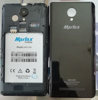 Marlax MX109 Flash File MT6580 Firmware File Download