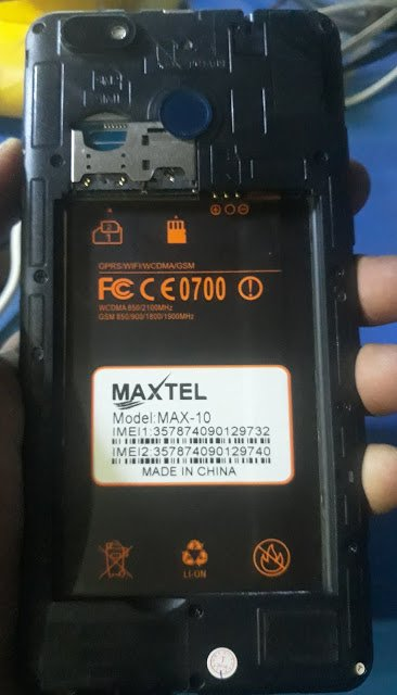 Maxtel Max-10 Flash File without password