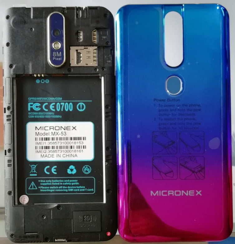 Micronex MX-53 Flash File without password