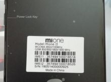 Mione II flash file without password