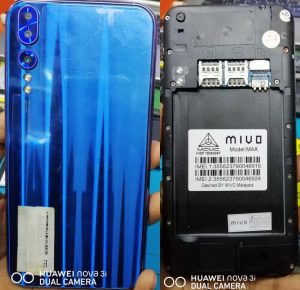 Mivo Max Flash File without password