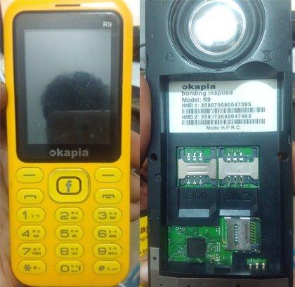 Okapia R9 Flash File without password
