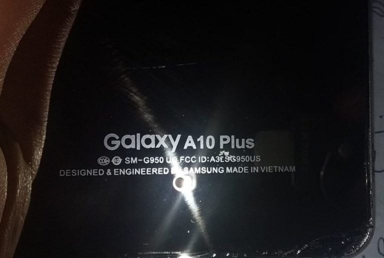 Samsung Clone A10 Plus Flash File without password