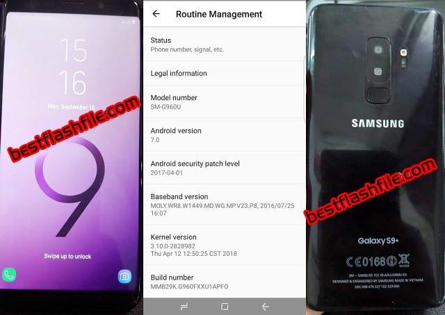 Samsung Clone S9+ Flash File
