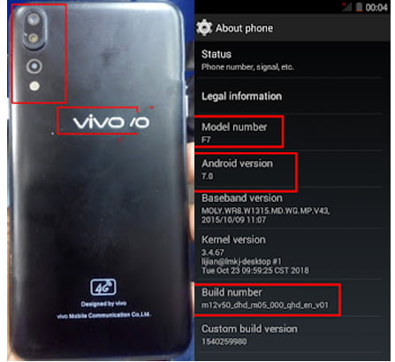 ViVO Clone F7 Flash File without password