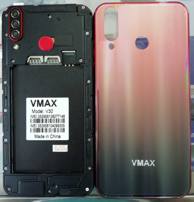 Vmax V30 Flash File 19