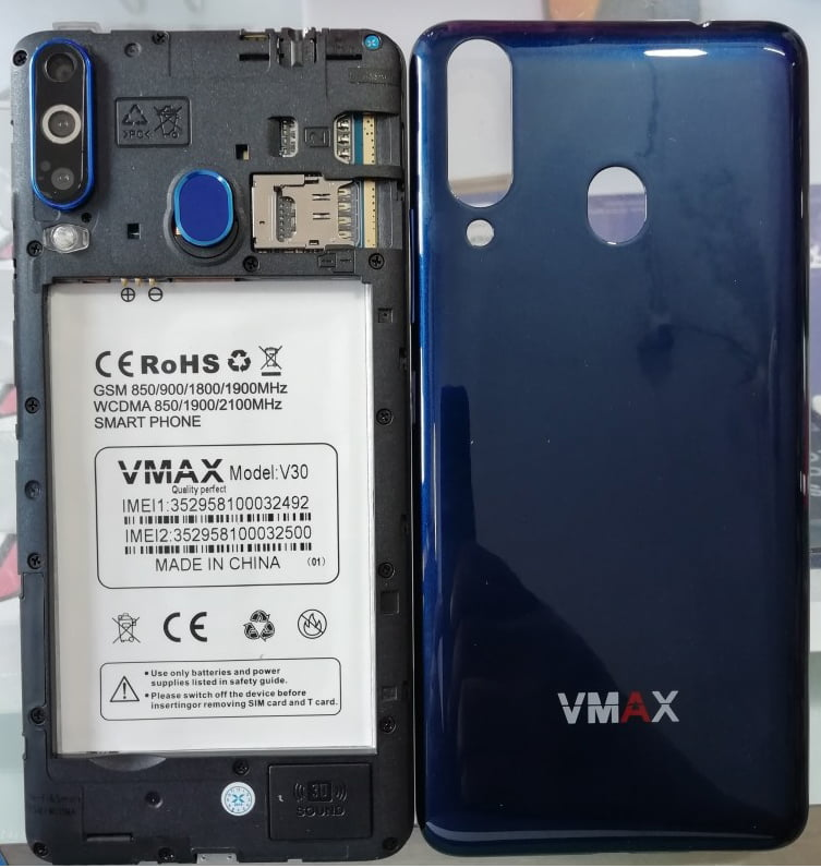 Vmax V30 Flash File 20