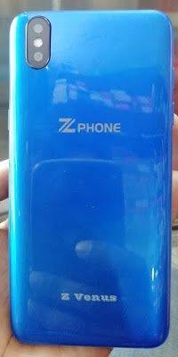 Zphone Z Venus Flash File without password