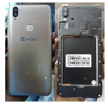 Zphone Z lite Flash File wothout password