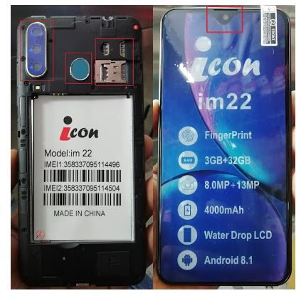 icon im 22 Flash File without password