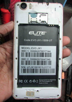 Elite EVO JX1 Firmware File